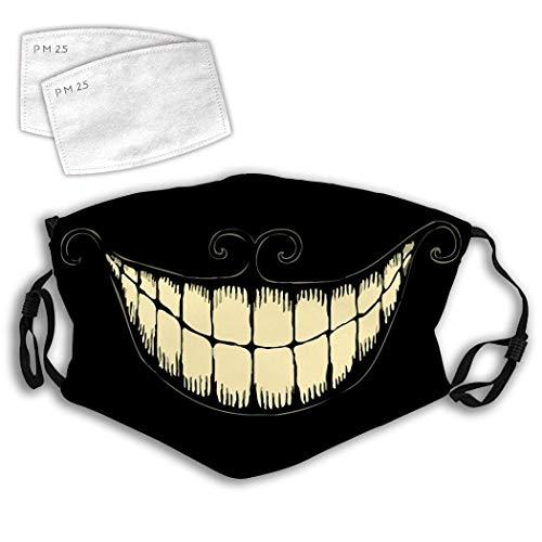 Smile Smiley Face Tooth Cartoon Comfortable Fashion Art Prints Adjustable Facial Decorations