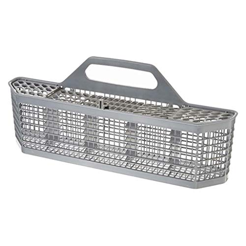 homozy Dishwasher Silverware Basket Equipment Manufacturer Part for Kitchenaid, 19.7x3.8x8.4