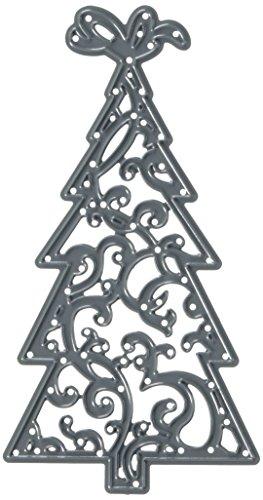 Darice, Craft Die Cut, Christmas Tree, black, 7,1 x 13,4 x 0,4 cm