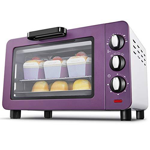 Toaster oven QYJH - Four ménager - Petit Four Grille-Pain - 15L - 1200W - Cuisson à Trois Couches - Chauffage à Quatre Tubes - Pizza 9\