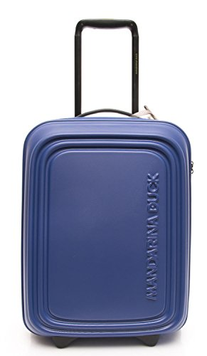 Mandarina Duck Logoduck S Valigia trolley blu