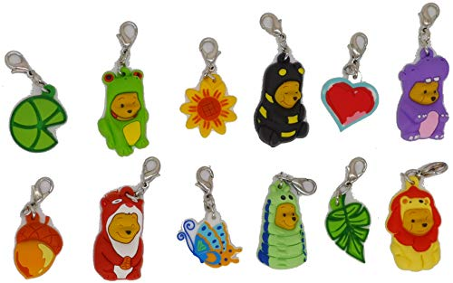Pick Me Pooh Collection – Disney Winnie the Pooh – Colección completa de 12 colgantes para pulseras, collares,...