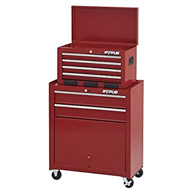 Waterloo 6-Drawer Tool Chest and Rolling Cabinet, 26  W - Designed, Engineered and Assembled in the USA