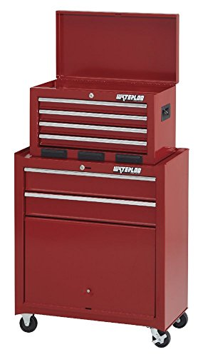 Waterloo 6-Drawer Tool Chest and Rolling Cabinet, 26' W - Designed, Engineered and Assembled in the USA