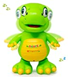Zest 4 Toyz Musical Dancing Dinosaur Sound Toy for Babies, Educational Toddler Toy