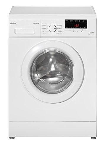 Amica WA 14655 W Waschmaschine FL / A+++ / 153 kWh / Jahr / 1400 UpM / 6 kg / 8800 L / Jahr / Elektronisch mit 16 Haupt-Programmen / 3 Zusatzfunktionen Temperaturwahl, Drehzahlregulierung, Startzeitverzögerung / weiß