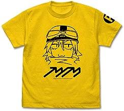 フリクリ FLCL ハル子 Tシャツ/CANARY YELLOW-L