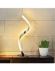 テーブルランプ Albrillo モダンスタイル テーブルライト 調光可能 タッチセンサー 美しい曲線デザイン 装飾ランプ ナイトライト おしゃれ 間接照明 ベッドサイドランプ 寝室 インテリア 授乳用 省エネ プレゼント 北欧照明