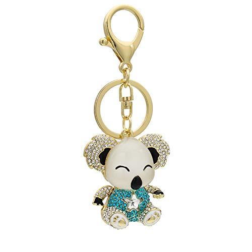 Da.Wa 1 Stück Schlüsselanhänger Schlüsselbund Auto Schlüssel Tasche Telefon Koala Anhänger