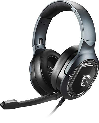MSI ゲーミングヘッドセット Immerse GH50 GAMING Headset USB接続 仮想7.1ch サラウンド 重低音 SP891