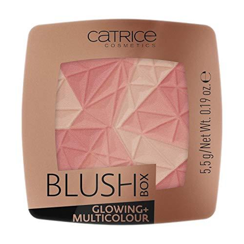 Catrice - Rouge - Blush Box Glowing + Multicolour 010 - Dolce Vita