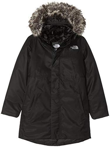 The North Face Arctic Swirl - Chaqueta de plumón para Niñas, Negro...