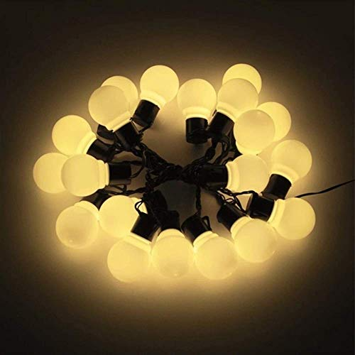 Fly Decorative String Lights Outdoor Indoor 10/20 Bulbs Fairy Lights Outdoor Solar LED Lights Garden Decoration Waterproof Patio Balcony Porch LED Solar Lamp String Lights (Color : 11 15w) Birthday