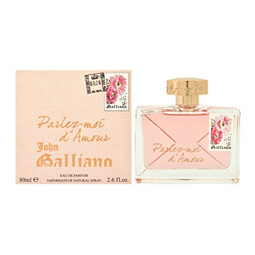 JOHN GALLIANO Parlez Moi D Amour EDP Vapo 80 ml, 1er Pack (1 x 80 ml)
