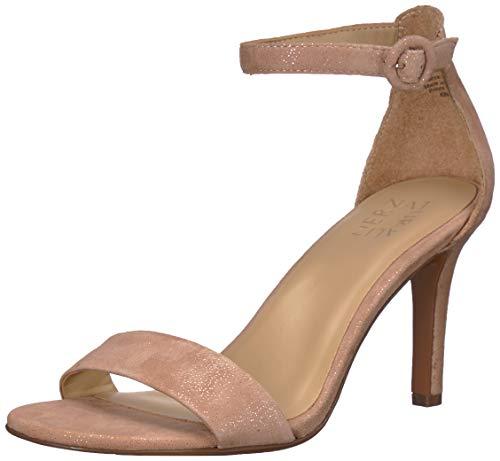 Naturalizer Women's Heeled Sandals, chai Glitter Dust, 10.5