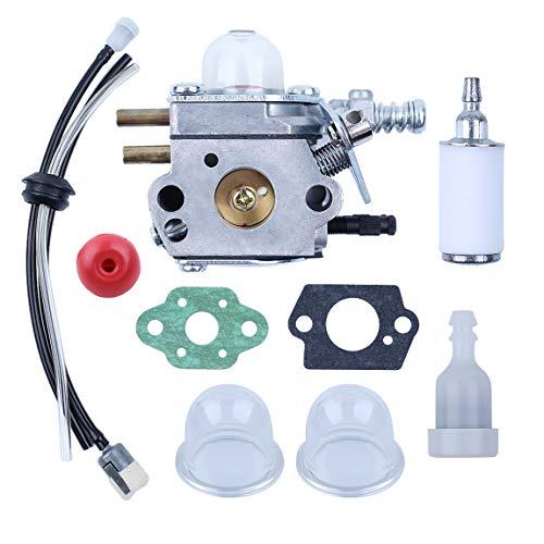 Haishine Vergaser Kraftstofffilterleitung Entlüftungs Zündkerzen Kit für Echo SRM2100 GT2000 GT2100 PAS2000 Trimmer Zama C1U-K29 C1U-K47 C1U-K52