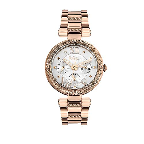 Lee Cooper Damen-Armbanduhr, Zifferblatt Perlmutt, LC06512.420