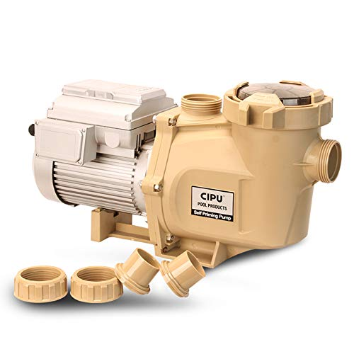 CIPU 1.5HP Variable Speed Inground Pool Pump 230V High Performance Intelligent Control for Swimming Pools All-Weather Water Clean Filter Pump System Replacement ETL Certificated, CSPPV711