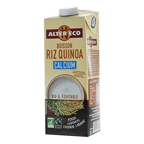 Alter Eco Boisson Riz Quinoa - Boisson Végétale Bio & Équitable - 1L