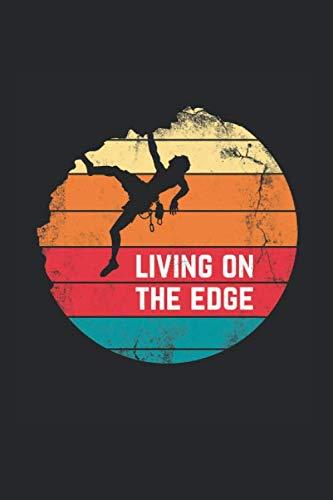 Notizbuch ca A5 Kariert 120 Seiten Geschenkidee: Klettern Bouldern Bergsteiger Wandern Berge Kletter Training