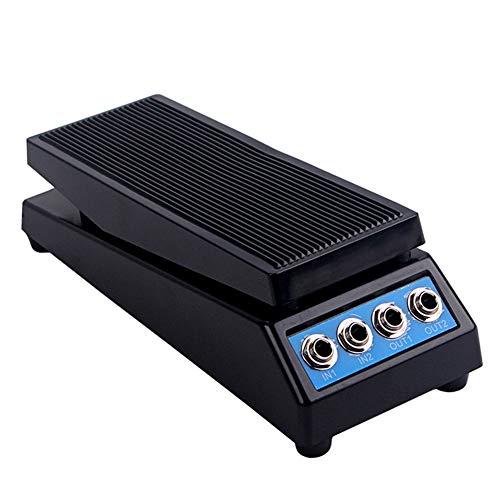 Instrumento de orquesta, pedal de efecto uticon, pedal de efecto de guitarra eléctrica profesional con control de volumen estéreo con conector