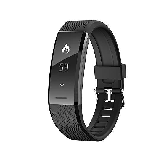 HJJH Fitness-Tracker, Aktivitäts-Tracker-Uhr mit Pulsmesser Wasserdichtes, intelligentes Armband-Armband ip67, Wearable-Aktivitäts-Tracker als Schrittzähler-Schlafmonitor