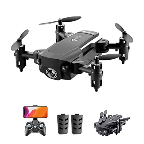 GoolRC Mini Drones for Kids or Adults, KK8 RC Drone with 720P HD Camera, Foldable RC Quadcopter with Gesture Photo/Video, 3D Flips, Headless Mode, One Key Return, Altitude Hold and 2 Batteries