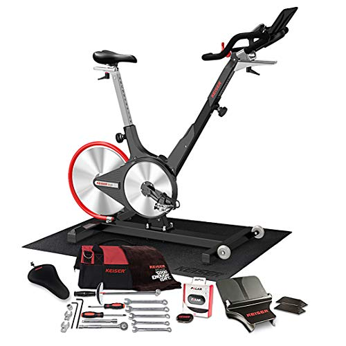 Keiser M3i Magnetic Resistance Indoor Cycle Bundle