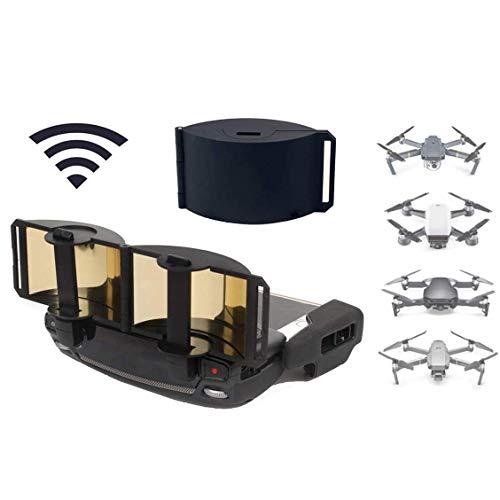 Linghuang Signal Booster Verstärker für DJI Mavic Mini/Mavic Pro/Mavic 2 Pro/Mavic 2 Zoom/Spark/Mavic Air Remote Controller Zubehör Fernbedienung Antenne Range Extender (Gold)
