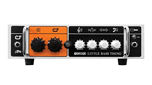 Orange Little Bass Thing 500-watt Bass Head