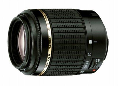 Tamron AF 55-200mm 4,5-5,6 Di II LD Macro digitales Objektiv für Nikon (Nicht D40/D40x/D60)