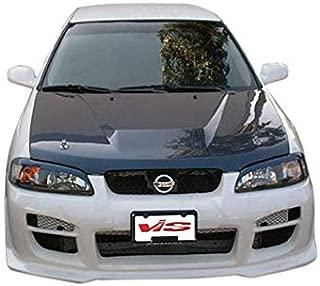 VIS 00-03 Nissan Sentra Carbon Fiber Hood INVADER B15