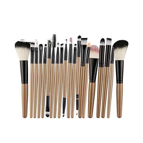 22 pinceaux de maquillage pour les yeux