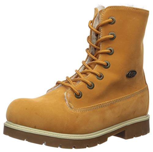 Lugz Unisex Convoy Fold Fur Fashion Boot, Golden Wheat/Cream/Gum, 7 D US Big Kid