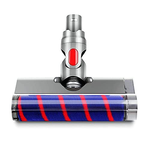 ソフトローラークリーナーヘッド電動 対応モーターヘッド 交換部品 Compatible with Dyson (ダイソン)V6 DC61 DC62 DC58 DC59 DC74用の掃除機ヘッド