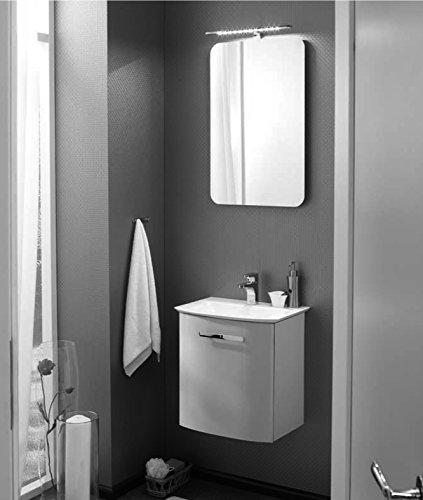 PELIPAL Solitaire 6900 3 TLG. Badmöbel Set/Waschtisch/Unterschrank/Flächenspiegel/Comfort N