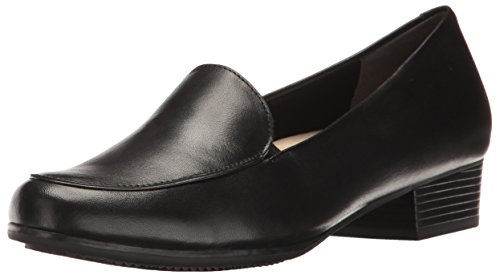 Trotters Women's Monarch Slip-On Loafer, Black, 6.5 W US