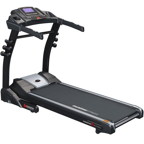 Maxima Fitness MF-2000-SpeedsterXT-B Auto Incline Folding Semi Commercial Treadmill - Grey/Black, Premium