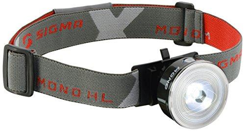 Sigma Sport Beleuchtung Mono Hl Stirnlampe, Schwarz, 7.4 x 12 x 6 cm