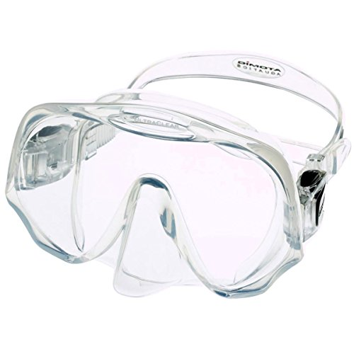 ATOMIC - Frameless Medium Fit klar-schwarz Tauchmaske