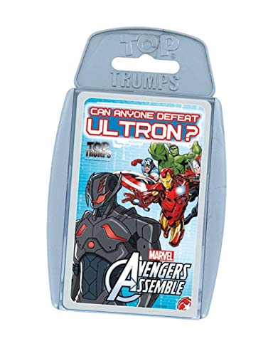 Avengers Top Trumps Assemble (81724), Multicolor (Eleven Force 1)