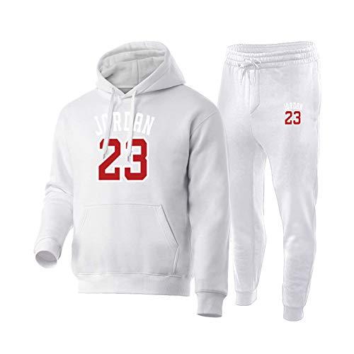 Juego de camiseta de baloncesto de JordÄn 2021, estilo retro, para hombre, con sudadera, sudadera y pantalones, traje de entrenamiento para novio, 8-XXL