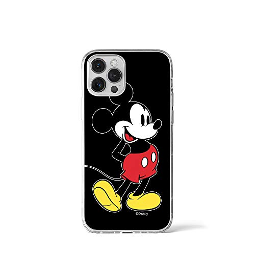 ERT GROUP Disney Mickey Mouse Handyhülle für iPhone 12 / iPhone 12 Pro 6.1, Stoßfeste Hülle im Mickey Mouse Design