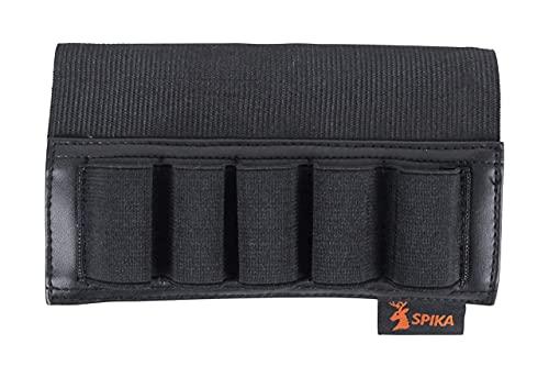 SPIKA Shotgun Shell Holder Buttstock Ammo Holder 5rounds