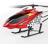 Moerc Grandes 80 cm al Aire Libre RC helicóptero con gyro LED Gigante Gigante Radio Control Remoto 3.5 Canales Helicóptero Boy Toy Toy Charging Aircraft Regalos para Jóvenes Adultos