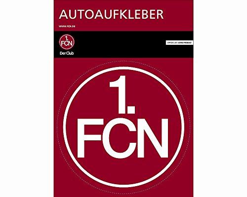 """AUFKLEBER STICKER Ø 20 cm """"Logo"""" 1. FC NÜRNBERG 1. FCN"""
