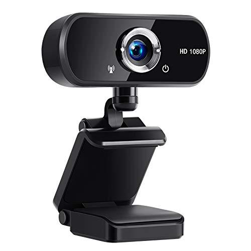 -50% Webcam PC con Microfono, USB 2.0 Webcamera 1080P Full HD🎁CODICE PROMO ---->