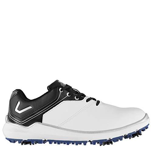 Slazenger Herren V300 Golfschuhe Soft Spikes Weiß 42.5