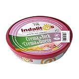 Indalitos - Crema Jamón York y Queso - Bandeja 5 Latas 110g