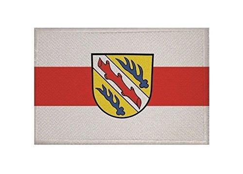 U24 Aufnäher Stockach Fahne Flagge Aufbügler Patch 9 x 6 cm